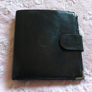 エレガンス 折り財布 黒