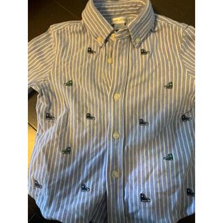 Ralph Lauren - ラルフローレン18monthシャツ ブルー美品ストライプ