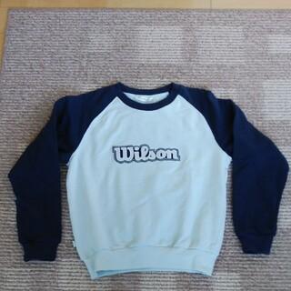 ウィルソン(wilson)のレディース トレーナー 新品未使用品(トレーナー/スウェット)