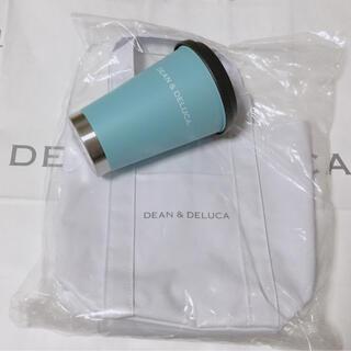 DEAN & DELUCA - 新品 DEAN&DELUCA 限定色タンブラー (アイスブルー)マーケットトート