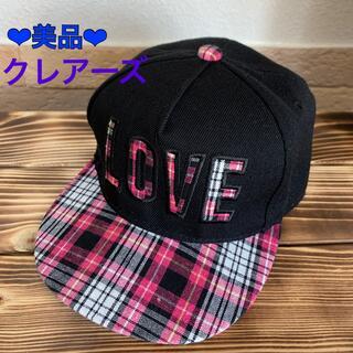 クレアーズ(claire's)の美品♡クレアーズ♪女の子キャップ 帽子(帽子)