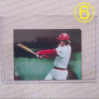 6野球チップスカード 79年 プロ野球カード セントラル・リーグ 広島東洋カープ(スポーツ選手)