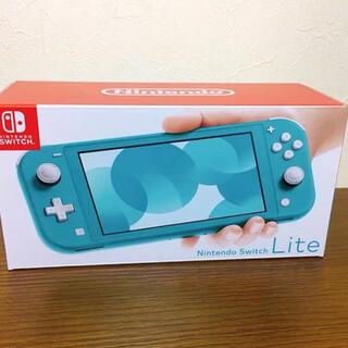 ニンテンドースイッチ(Nintendo Switch)のSwitchライト ターコイズ(携帯用ゲーム機本体)