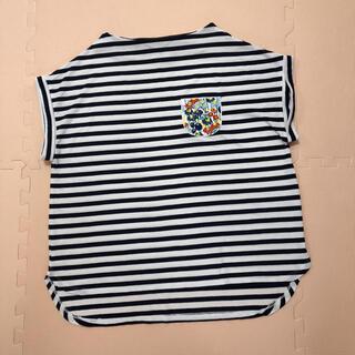 グラニフ(Graniph)のグラニフ  刺繍ボーダー Tシャツ(Tシャツ(半袖/袖なし))