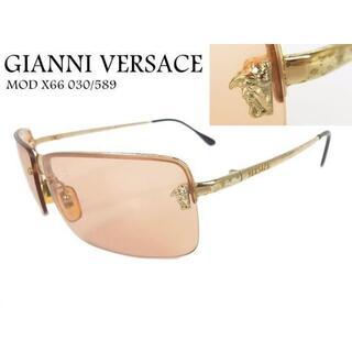 ジャンニヴェルサーチ(Gianni Versace)のジャンニ ヴェルサーチ メデューサ ハーフリム サングラス アイウェア(サングラス/メガネ)
