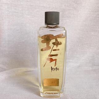 シセイドウ(SHISEIDO (資生堂))のレア 資生堂 琴 こと 80ml オーデコロン 香水(香水(女性用))