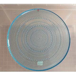 イッタラ(iittala)のイッタラ カステヘルミ プレート皿 31.5cm ライトブルー 未使用(食器)
