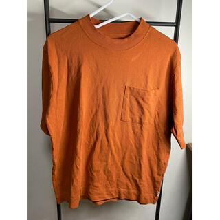 コーエン(coen)のcoen ブラウンtシャツ/coen ブラウン えんじ色 tシャツ 半袖 夏服(Tシャツ/カットソー(半袖/袖なし))
