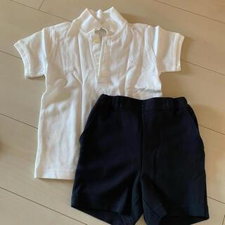 ファミリア(familiar)のお受験  ポロシャツ・パンツセット(その他)