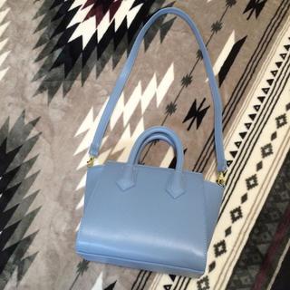 ジーユー(GU)のgu購入ショルダーバッグ ブルー(ショルダーバッグ)