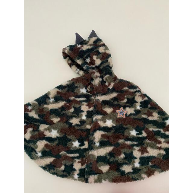 OBABY(オーベイビー)のカモフラージュポンチョ レディースのジャケット/アウター(ポンチョ)の商品写真