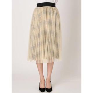 ラグナムーン(LagunaMoon)の◇新品◇ ラグナムーン プリーツスカート レーススカート(ひざ丈スカート)