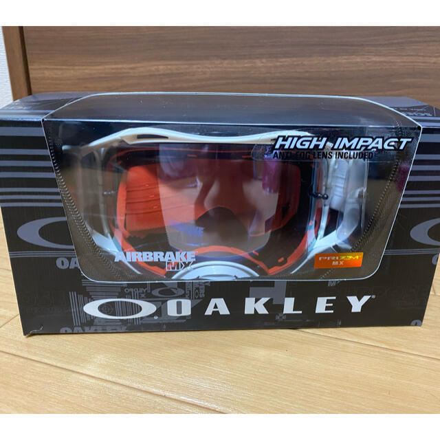 Oakley(オークリー)のOakle エアブレイク モトクロスゴーグル オフロードゴーグル 新品未使用 自動車/バイクのバイク(モトクロス用品)の商品写真