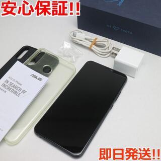 ゼンフォン(ZenFone)の美品 ZenFone 5 ZE620KL ブラック (スマートフォン本体)