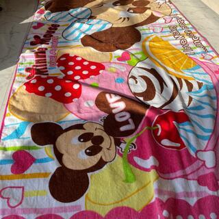 ディズニー(Disney)のタオルケット ディズニー COTTON100%(タオルケット)