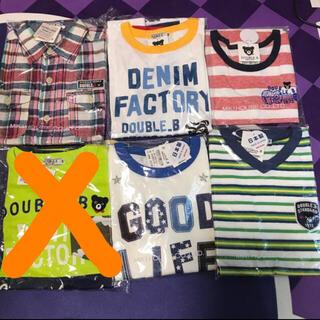 ダブルビー(DOUBLE.B)のダブルB Tシャツ、タンク、長袖140(Tシャツ/カットソー)