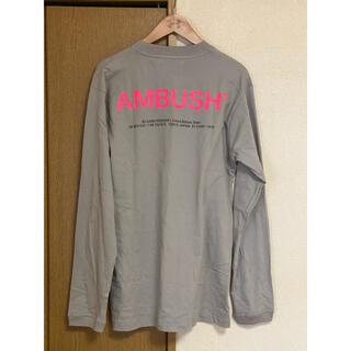 アンブッシュ(AMBUSH)のアンブッシュ AMBUSH ロンT バックプリント ストリート (Tシャツ/カットソー(七分/長袖))