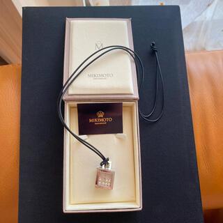 ミキモト(MIKIMOTO)のミキモト ペンダント時計(ネックレス)