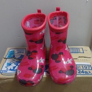 ディズニー(Disney)のミニーちゃんレインブーツ(長靴/レインシューズ)