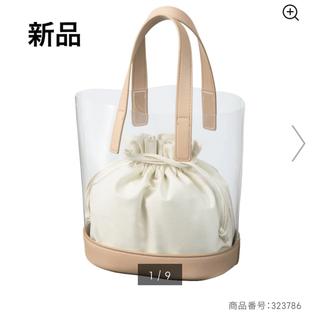 ジーユー(GU)の【新品】GU クリアトートバッグ 色クリア(トートバッグ)