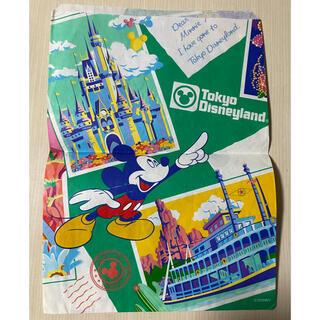 ディズニー(Disney)のディズニー 紙袋 レトロ(キャラクターグッズ)