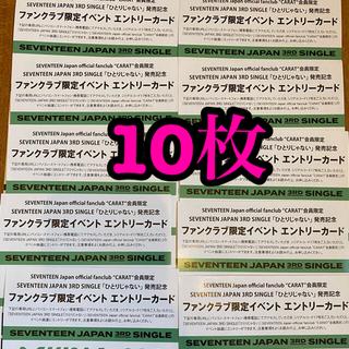 セブンティーン(SEVENTEEN)のSEVENTEEN ひとりじゃない エントリーカード(K-POP/アジア)