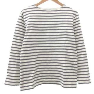 オーシバル(ORCIVAL)のオーチバル ORCIVAL バスクシャツ ボーダー Tシャツ 3 グレー(Tシャツ/カットソー(七分/長袖))