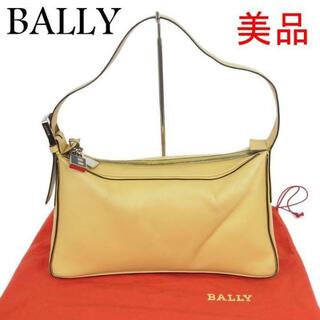 バリー(Bally)のバリー BALLY 美品 ロゴ レザー 肩掛け ショルダー ハンド バッグ(ハンドバッグ)