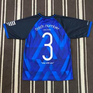 バックナンバー(BACK NUMBER)のバックナンバー one room限定 2018 ドームツアー サッカーシャツ S(ミュージシャン)