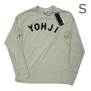 ワイスリー(Y-3)の新品タグ付き Y-3ヨウジヤマモト ロゴカットソー メンズS ユニセックス白(Tシャツ/カットソー(七分/長袖))
