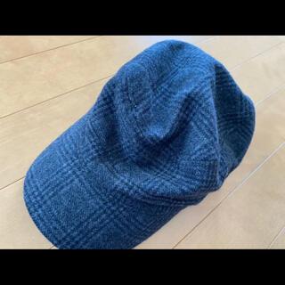 メンズ 帽子 キャップ チェック キャスケット(キャスケット)