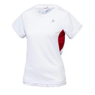 ルコックスポルティフ(le coq sportif)のle coq ☆ ホワイトTシャツレディースS新品(ウェア)