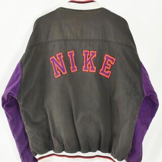 ナイキ(NIKE)の【ヴィンテージ古着】90s NIKE ナイキ コットンスタジャン(スタジャン)