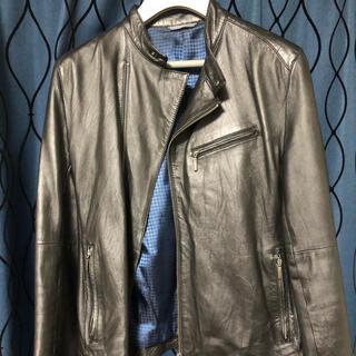 ランバンオンブルー(LANVIN en Bleu)のLANVIN en Blue ライダースジャケット 羊革(ライダースジャケット)