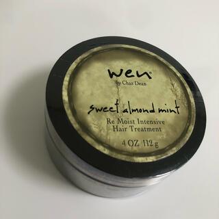 ウェン(WEN)の【新品】wen  スペシャルヘアケア トリートメント アーモンド 大容量112g(トリートメント)