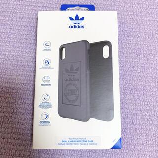アディダス(adidas)のadidas iPhoneXSケース カーキ色(iPhoneケース)
