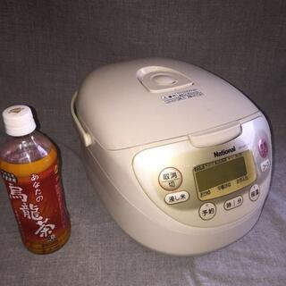 パナソニック(Panasonic)の5.5合 遠赤厚釜電子ジャー炊飯器 SR-NA10V6(炊飯器)