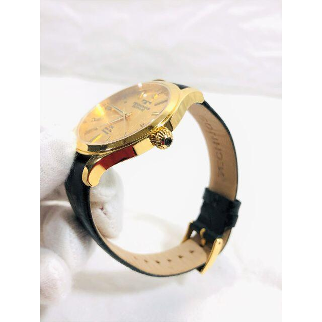 TECHNOS(テクノス)のTECHNOS 24K Gold foll diamond  メンズ腕時計 メンズの時計(腕時計(アナログ))の商品写真