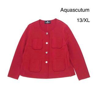 アクアスキュータム(AQUA SCUTUM)の美品♡ Aquasqutum アクアスキュータム カーディガン 大きい XL(ノーカラージャケット)