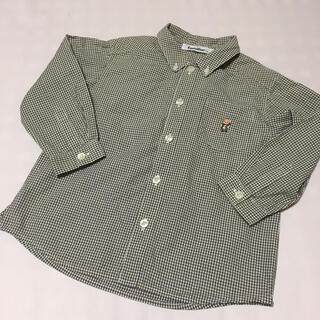 ファミリア(familiar)のお値下げ  ファミリア  ギンガムチェックシャツ  100(ブラウス)