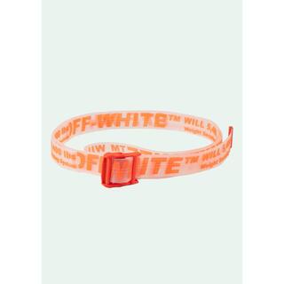 オフホワイト(OFF-WHITE)のOff-White ベルト オレンジ 限定(ベルト)