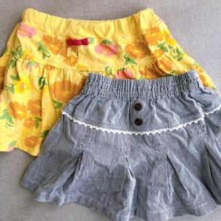 キムラタン(キムラタン)の【まとめ売り】キュロット+スカート 80サイズ(スカート)
