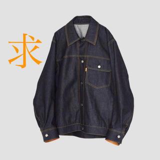 SUNSEA - 求) ryo takashima デニムジャケット