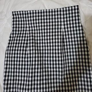 アングローバルショップ(ANGLOBAL SHOP)のタイト ギンガムチェック スカート(ロングスカート)