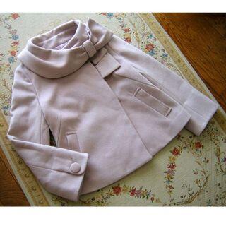 ウィルセレクション(WILLSELECTION)の定価¥30,800 ウィルセレクション リボン風襟ショートコート/ジャケット(その他)