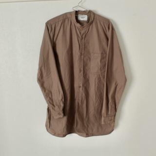 ヤエカ(YAECA)の【YAECA】バンドカラーシャツ(シャツ)
