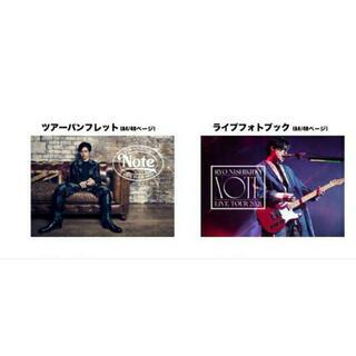 錦戸亮 Note パンフレット フォトブック(ミュージシャン)