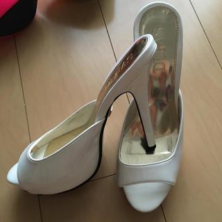 DURAS(デュラス)のDURAS ヒール Lサイズ レディースの靴/シューズ(ハイヒール