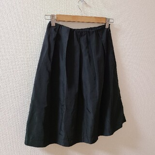 エル(ELLE)のタックフレアスカート(ひざ丈スカート)
