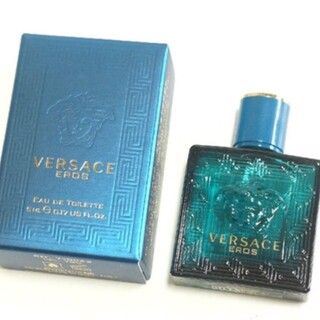 ヴェルサーチ(VERSACE)のVERSACE エロス EDT 5ml ミニチュア(香水(女性用))